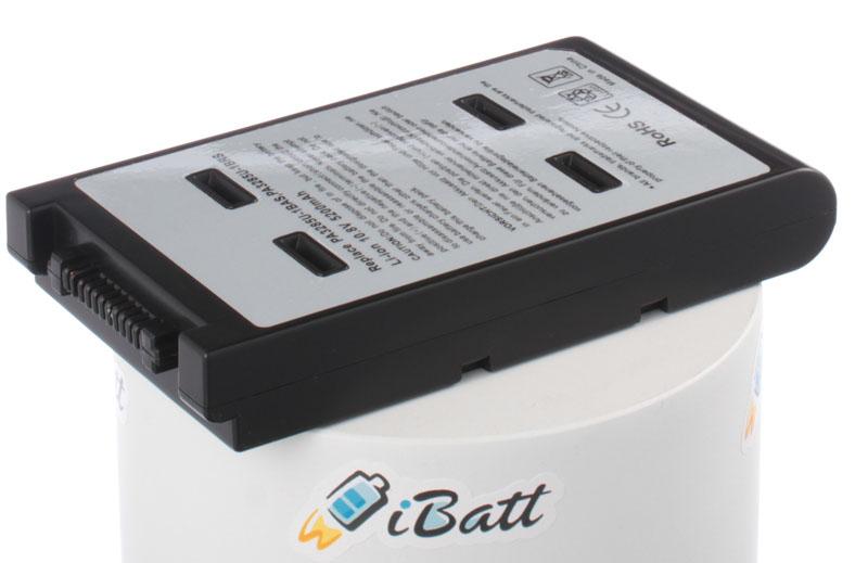 Аккумуляторная батарея PA3285U-3BRS для ноутбуков Toshiba. Артикул iB-A434H.Емкость (mAh): 5200. Напряжение (V): 10,8