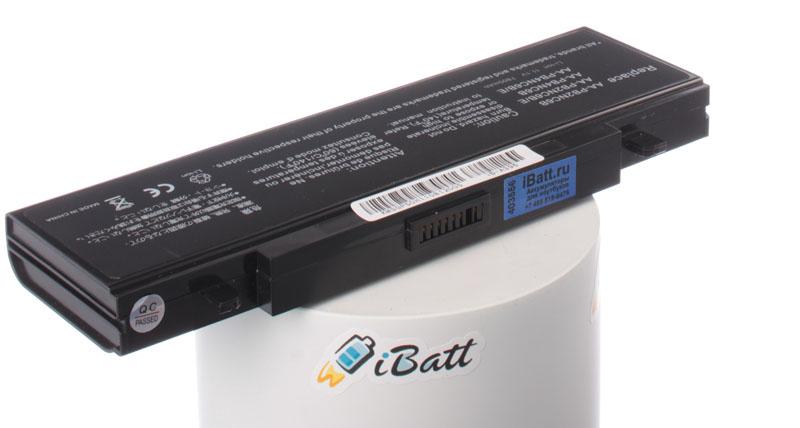 Аккумуляторная батарея iBatt iB-A396 для ноутбука SamsungЕмкость (mAh): 6600. Напряжение (V): 11,1