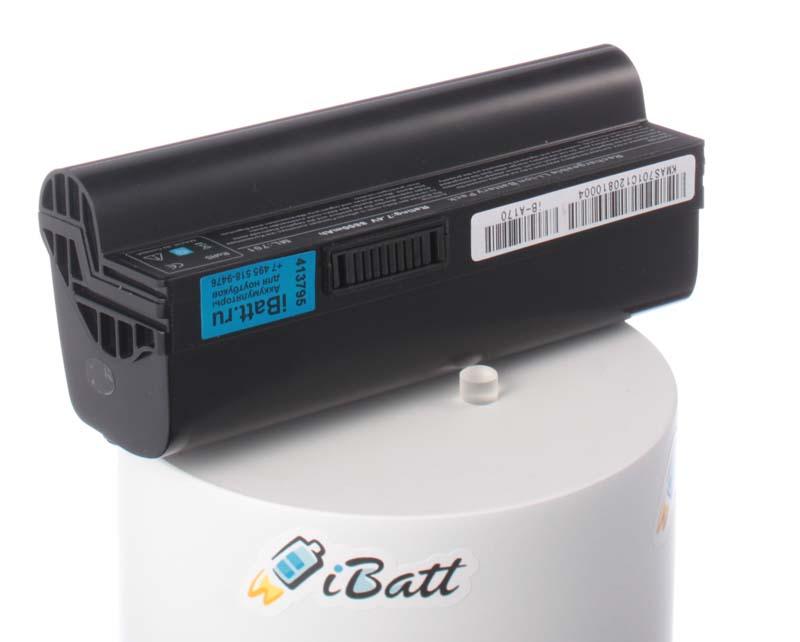 Аккумуляторная батарея iBatt iB-A170 для ноутбука AsusЕмкость (mAh): 8800. Напряжение (V): 7,4
