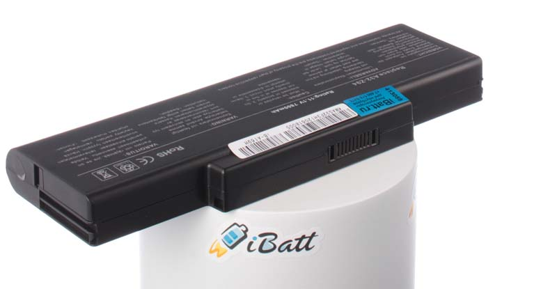 Аккумуляторная батарея для ноутбука Asus X56. Артикул iB-A169H.Емкость (mAh): 7800. Напряжение (V): 11,1