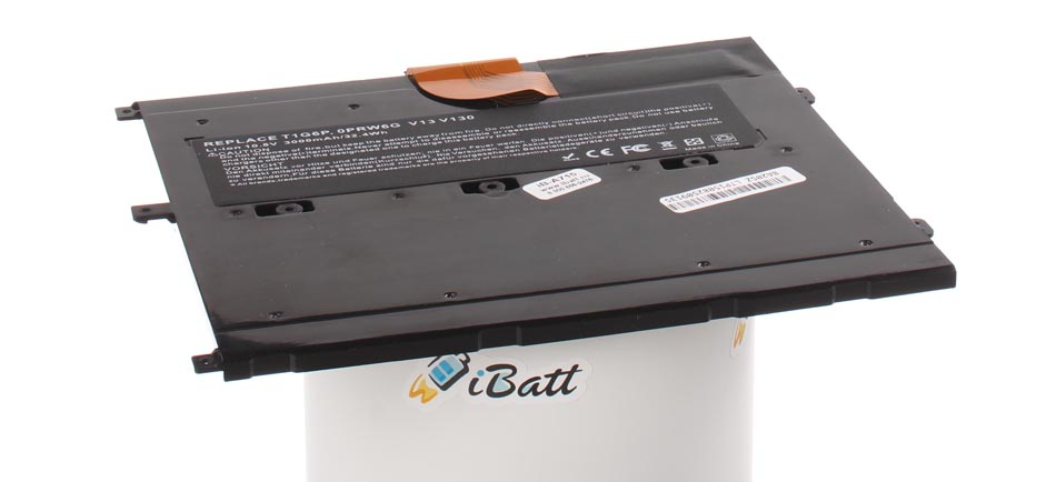 Аккумуляторная батарея T1G6P для ноутбуков Dell. Артикул iB-A715.Емкость (mAh): 2700. Напряжение (V): 11,1