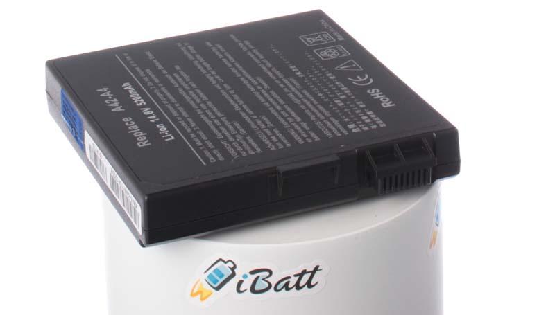 Аккумуляторная батарея для ноутбука Asus A4700D. Артикул iB-A175.Емкость (mAh): 4400. Напряжение (V): 14,8