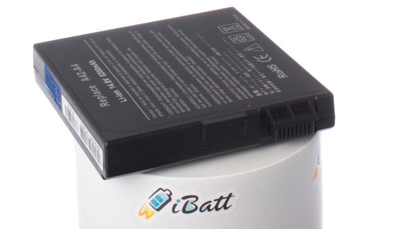 Аккумуляторная батарея для ноутбука Asus A4000L. Артикул iB-A175.Емкость (mAh): 4400. Напряжение (V): 14,8