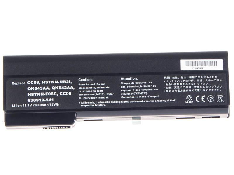 Аккумуляторная батарея iBatt iB-A907 для ноутбука HP-CompaqЕмкость (mAh): 6600. Напряжение (V): 11,1