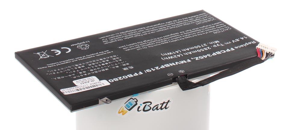 Аккумуляторная батарея iBatt iB-A941 для ноутбука Fujitsu-SiemensЕмкость (mAh): 2850. Напряжение (V): 14,8