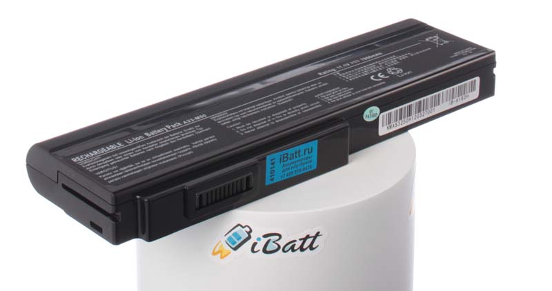 Аккумуляторная батарея для ноутбука Asus PRO64D. Артикул iB-A162H.Емкость (mAh): 7800. Напряжение (V): 11,1