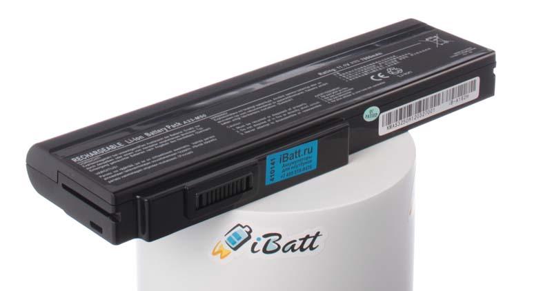 Аккумуляторная батарея для ноутбука Asus M60VP. Артикул iB-A162H.Емкость (mAh): 7800. Напряжение (V): 11,1