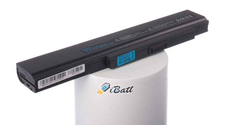 Аккумуляторная батарея для ноутбука Asus B50A. Артикул iB-A172.Емкость (mAh): 4400. Напряжение (V): 14,8