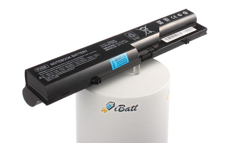 Аккумуляторная батарея PH09 для ноутбуков HP-Compaq. Артикул iB-A254H.Емкость (mAh): 7800. Напряжение (V): 10,8