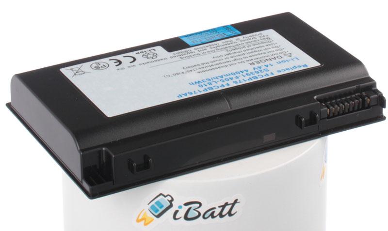 Аккумуляторная батарея для ноутбука Fujitsu-Siemens Lifebook E8410. Артикул iB-A277.Емкость (mAh): 4400. Напряжение (V): 14,8