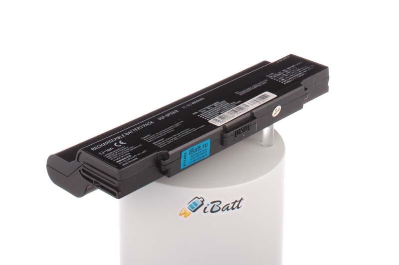 Аккумуляторная батарея iBatt iB-A577 для ноутбука SonyЕмкость (mAh): 8800. Напряжение (V): 11,1