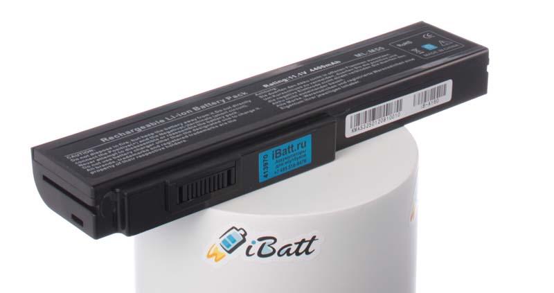 Аккумуляторная батарея для ноутбука Asus PRO64J. Артикул iB-A160.Емкость (mAh): 4400. Напряжение (V): 11,1