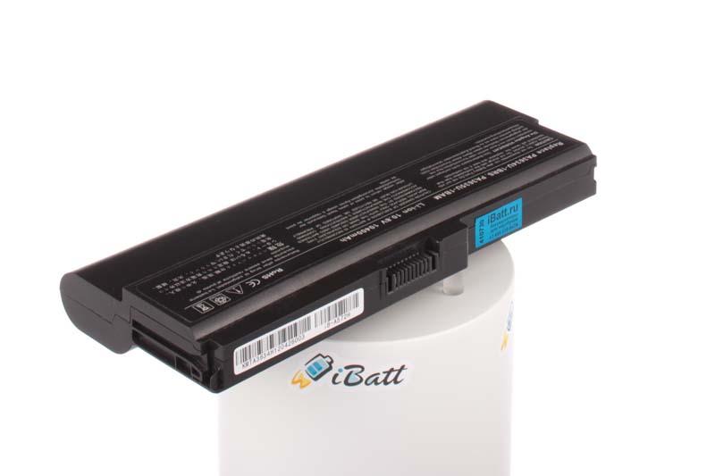 Аккумуляторная батарея iBatt iB-A572H для ноутбука ToshibaЕмкость (mAh): 10400. Напряжение (V): 10,8