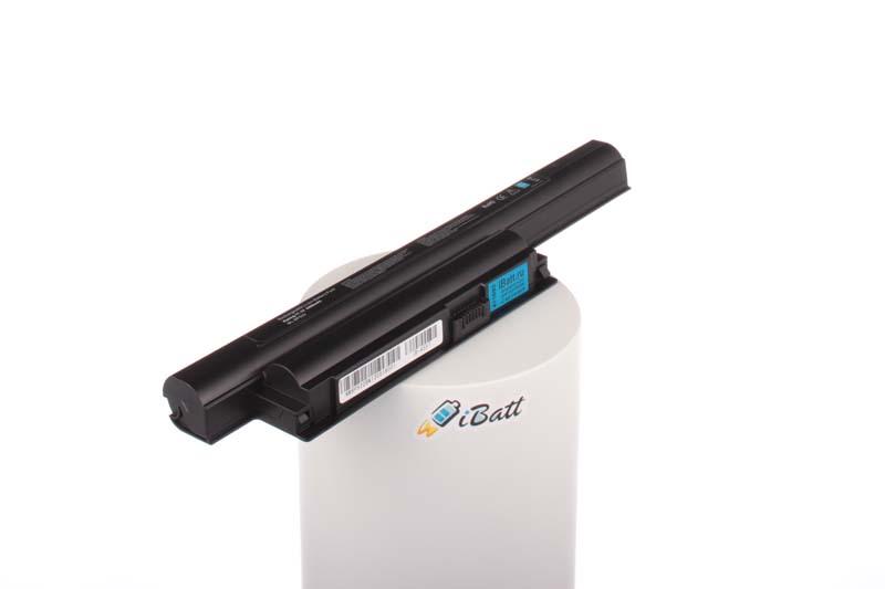 Аккумуляторная батарея iBatt iB-A557 для ноутбука SonyЕмкость (mAh): 4400. Напряжение (V): 11,1