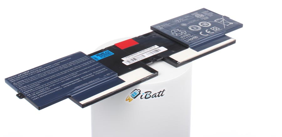 Аккумуляторная батарея BT.00403.022 для ноутбуков Acer. Артикул iB-A607.Емкость (mAh): 2300. Напряжение (V): 14,8
