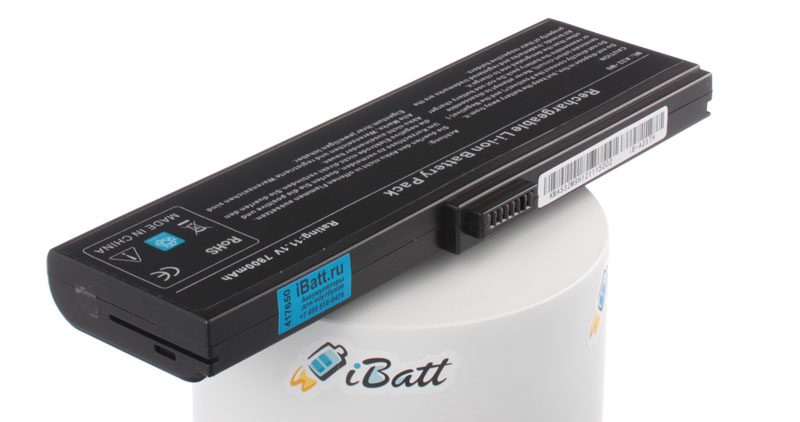 Аккумуляторная батарея A33-M9J для ноутбуков HP-Compaq. Артикул iB-A237H.Емкость (mAh): 7800. Напряжение (V): 11,1