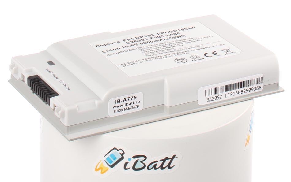 Аккумуляторная батарея FPCBP155 для ноутбуков Fujitsu-Siemens. Артикул iB-A776.Емкость (mAh): 4400. Напряжение (V): 10,8