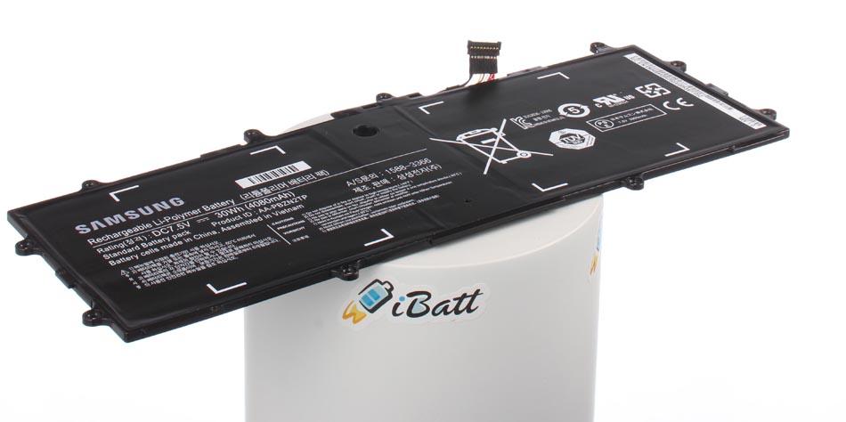 Аккумуляторная батарея BA43-00355A для ноутбуков Samsung. Артикул iB-A852.Емкость (mAh): 4080. Напряжение (V): 7,5