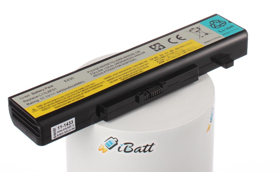 Аккумуляторная батарея L11P6R01 для ноутбуков IBM-Lenovo. Артикул 11-1433.Емкость (mAh): 4400. Напряжение (V): 10,8