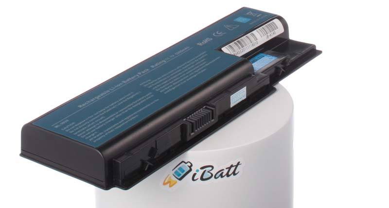 Аккумуляторная батарея AS07B41 для ноутбуков Acer. Артикул iB-A140.Емкость (mAh): 4400. Напряжение (V): 11,1