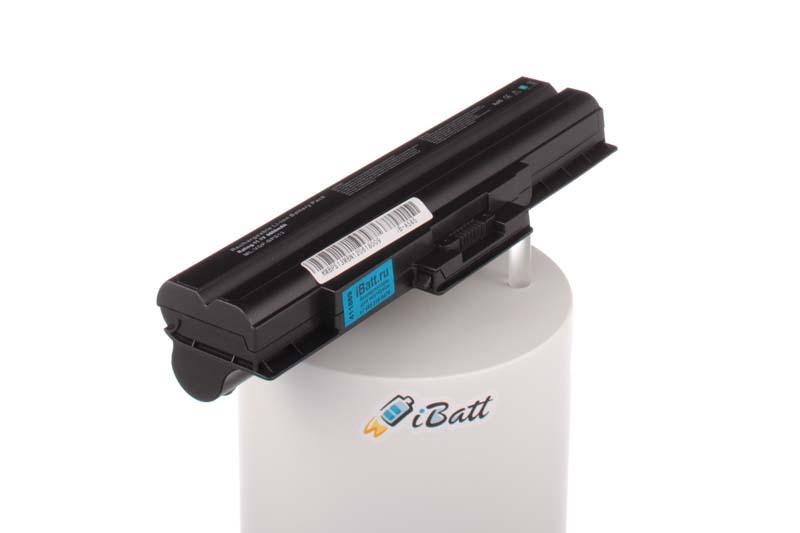 Аккумуляторная батарея iBatt iB-A585 для ноутбука SonyЕмкость (mAh): 6600. Напряжение (V): 11,1
