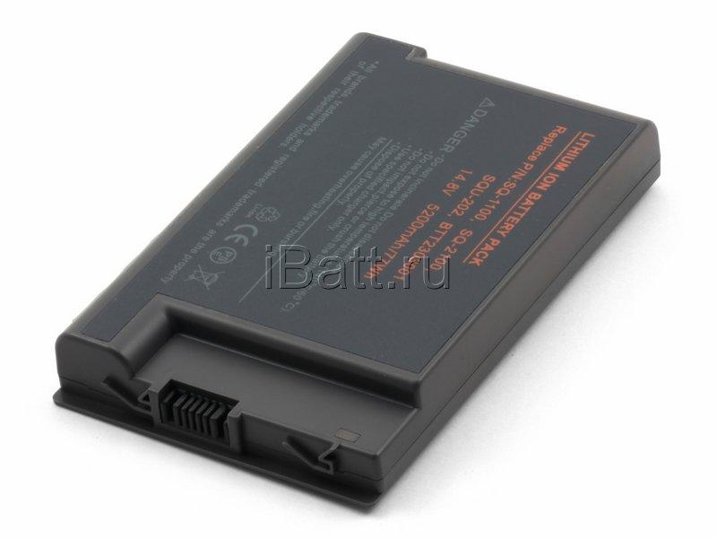 Аккумуляторная батарея для ноутбука Acer Aspire 1454LCi. Артикул 11-1268.Емкость (mAh): 4400. Напряжение (V): 14,8