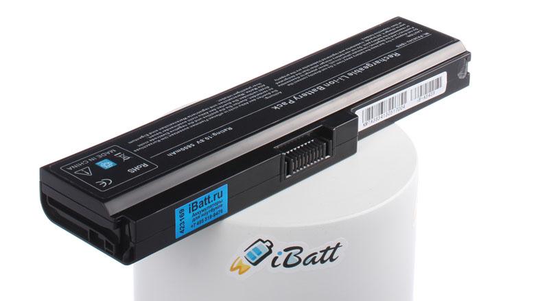Аккумуляторная батарея iBatt iB-A543X для ноутбука ToshibaЕмкость (mAh): 5800. Напряжение (V): 10,8