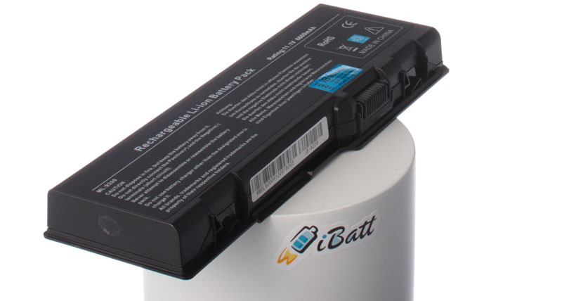 Аккумуляторная батарея для ноутбука Dell Inspiron 9200. Артикул iB-A239.Емкость (mAh): 6600. Напряжение (V): 11,1