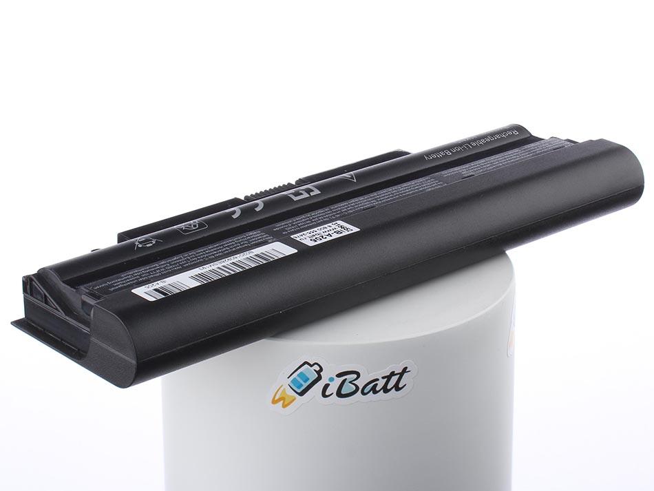 Аккумуляторная батарея iBatt iB-A205 для ноутбука DellЕмкость (mAh): 6600. Напряжение (V): 11,1