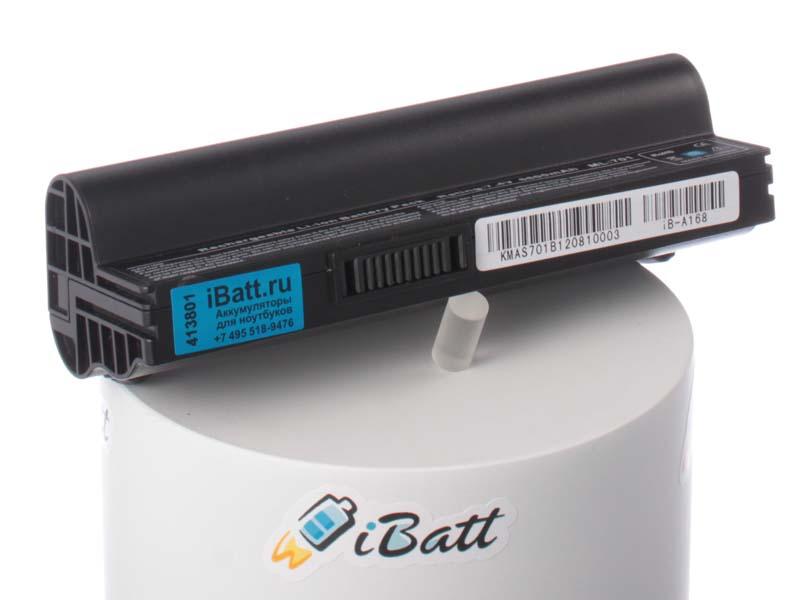 Аккумуляторная батарея iBatt iB-A168 для ноутбука AsusЕмкость (mAh): 6600. Напряжение (V): 7,4