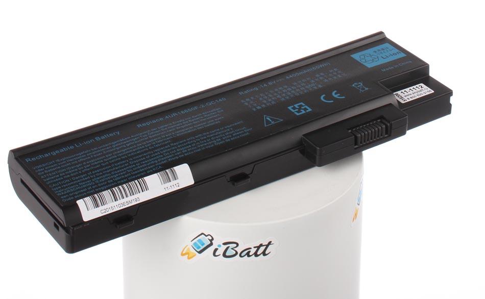 Аккумуляторная батарея для ноутбука Acer Aspire 1415LMi. Артикул 11-1112.Емкость (mAh): 4400. Напряжение (V): 14,8