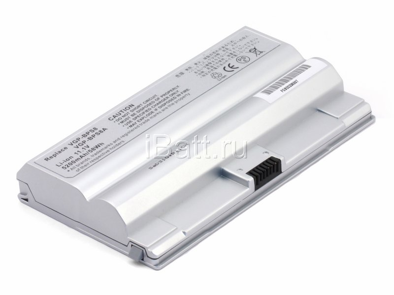 Аккумуляторная батарея CLE5188E.806 для ноутбуков Sony. Артикул 11-1468.Емкость (mAh): 4400. Напряжение (V): 11,1