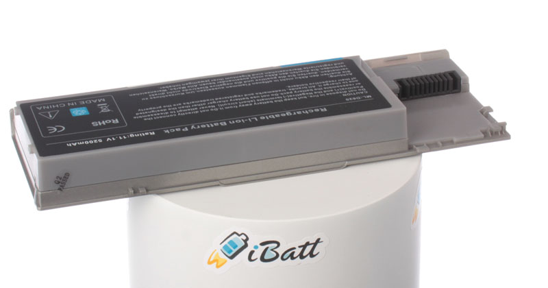 Аккумуляторная батарея JD610 для ноутбуков Dell. Артикул iB-A255H.Емкость (mAh): 5200. Напряжение (V): 11,1
