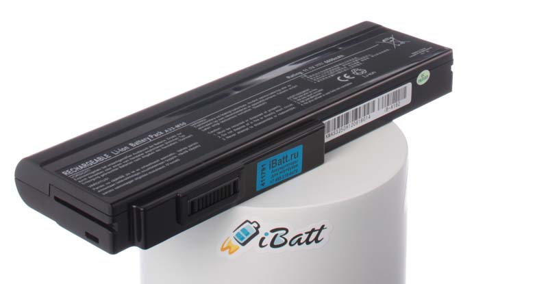 Аккумуляторная батарея для ноутбука Asus X57. Артикул iB-A162.Емкость (mAh): 6600. Напряжение (V): 11,1
