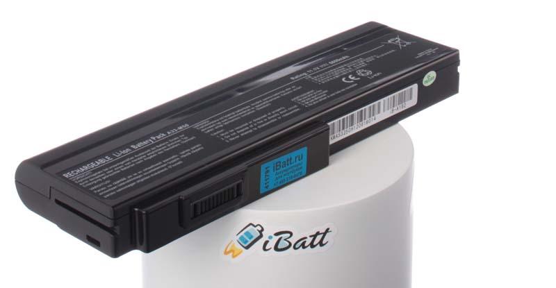 Аккумуляторная батарея для ноутбука Asus N53SM. Артикул iB-A162.Емкость (mAh): 6600. Напряжение (V): 11,1