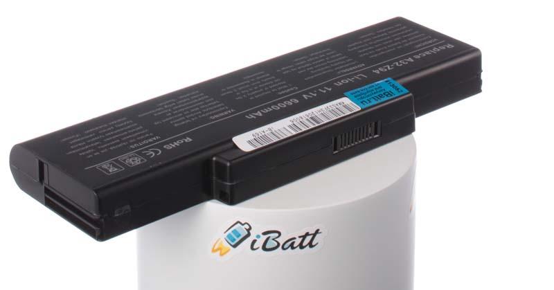 Аккумуляторная батарея для ноутбука Asus X56. Артикул iB-A169.Емкость (mAh): 6600. Напряжение (V): 11,1