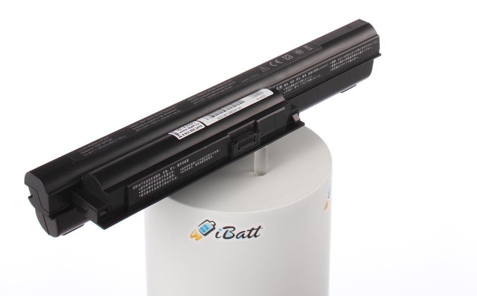 Аккумуляторная батарея iBatt iB-A500 для ноутбука SonyЕмкость (mAh): 6600. Напряжение (V): 11,1