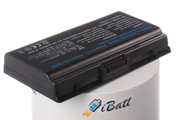Аккумуляторная батарея iBatt iB-A443 для ноутбука ToshibaЕмкость (mAh): 4400. Напряжение (V): 10,8