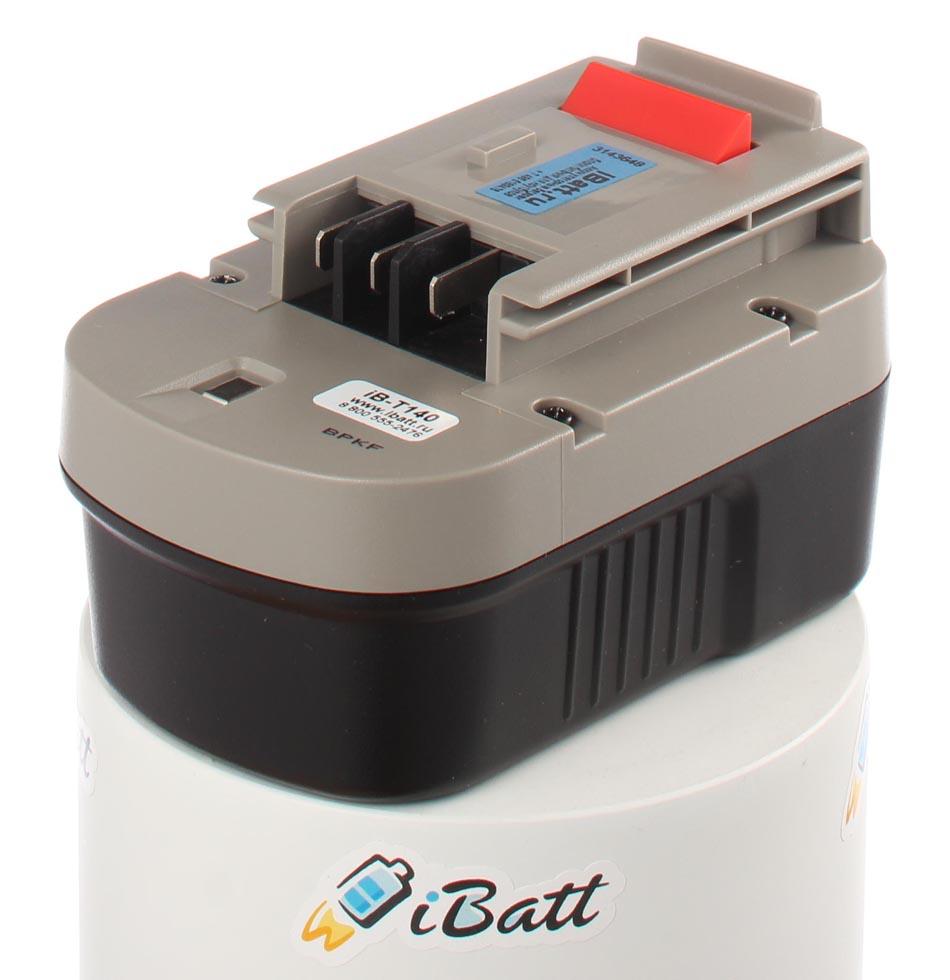 Аккумуляторная батарея iBatt iB-T140 для электроинструмента Black & Decker