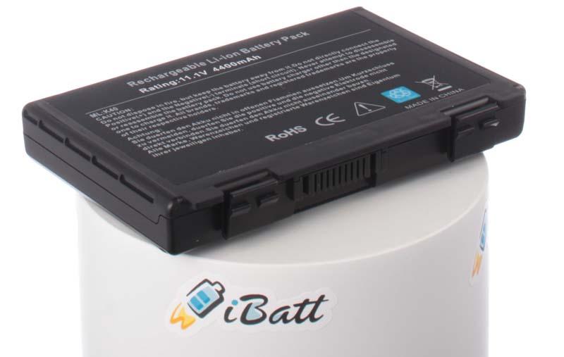 Аккумуляторная батарея для ноутбука Asus K70. Артикул iB-A145.Емкость (mAh): 4400. Напряжение (V): 11,1
