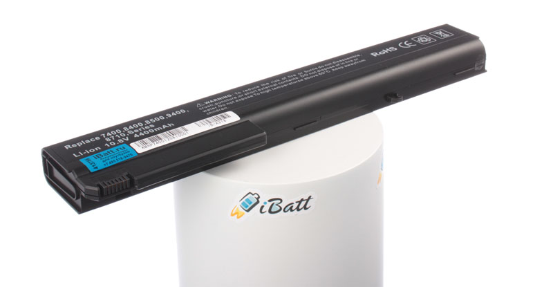 Аккумуляторная батарея для ноутбука HP-Compaq nx7400. Артикул iB-A318.Емкость (mAh): 4400. Напряжение (V): 10,8