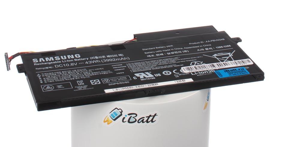 Аккумуляторная батарея для ноутбука Samsung 470R5E-K01 ATIV Book 4. Артикул iB-A849.Емкость (mAh): 3950. Напряжение (V): 10,8