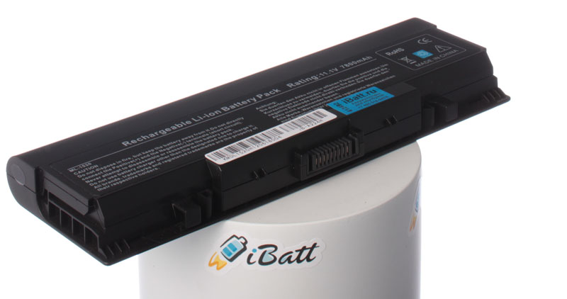 Аккумуляторная батарея 312-0504 для ноутбуков Dell. Артикул iB-A224H.Емкость (mAh): 7800. Напряжение (V): 11,1