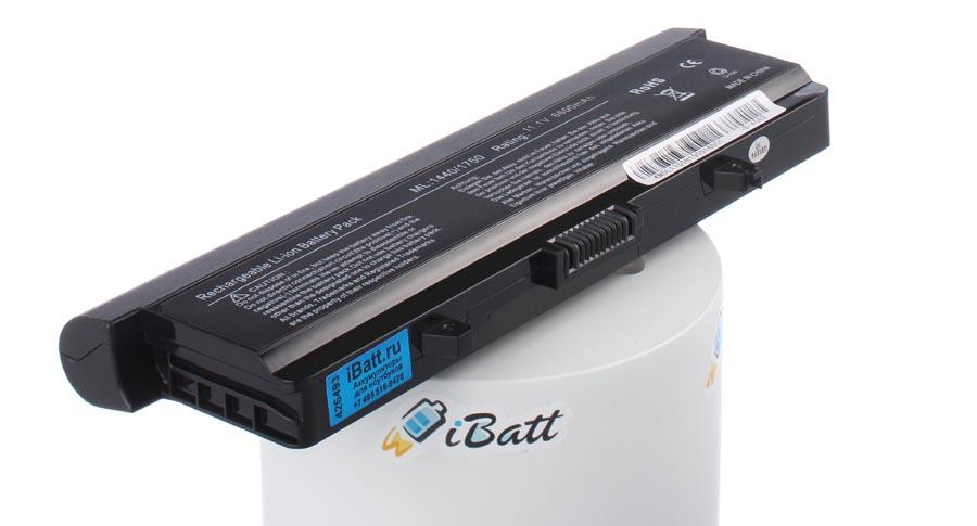 Аккумуляторная батарея GP952 для ноутбуков Dell. Артикул iB-A582.Емкость (mAh): 6600. Напряжение (V): 11,1