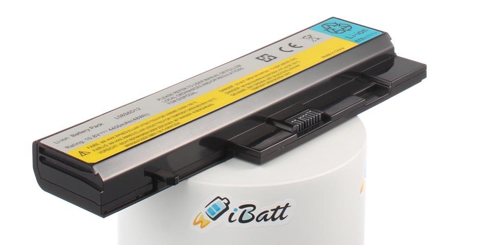 Аккумуляторная батарея iBatt iB-A801 для ноутбука IBM-LenovoЕмкость (mAh): 4400. Напряжение (V): 11,1