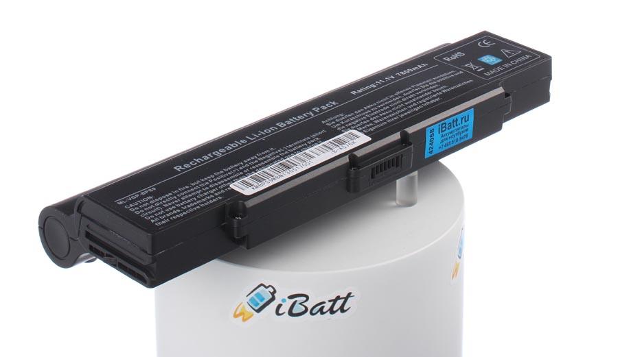 Аккумуляторная батарея VGP-BPS9 для ноутбуков Sony. Артикул iB-A576H.Емкость (mAh): 7800. Напряжение (V): 11,1