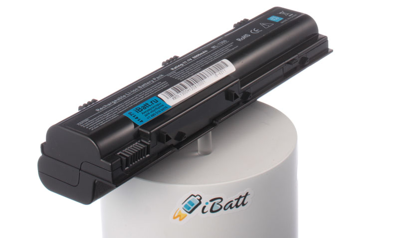 Аккумуляторная батарея 0XD185 для ноутбуков Dell. Артикул iB-A211.Емкость (mAh): 8800. Напряжение (V): 11,1