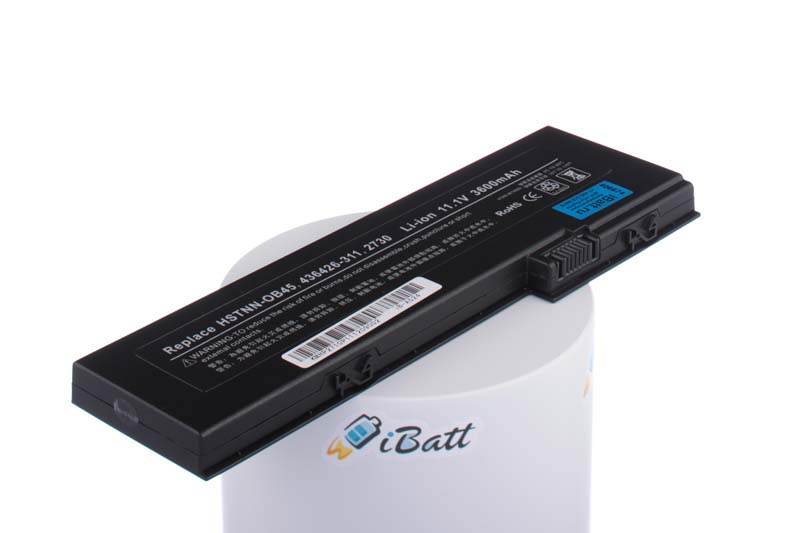Аккумуляторная батарея HSTNN-CB45 для ноутбуков HP-Compaq. Артикул iB-A524.Емкость (mAh): 3600. Напряжение (V): 11,1