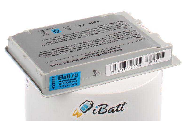 Аккумуляторная батарея CL5102S.806 для ноутбуков Apple. Артикул iB-A425.Емкость (mAh): 4400. Напряжение (V): 11,1