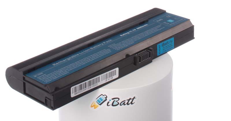 Аккумуляторная батарея для ноутбука Acer TravelMate 3212WXMi. Артикул iB-A138.Емкость (mAh): 6600. Напряжение (V): 11,1
